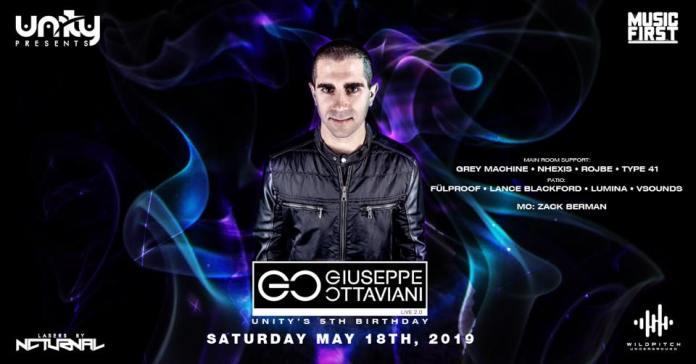 Unity Events 5th Birthday featuring Giuseppe Ottaviani LIVE 2.0