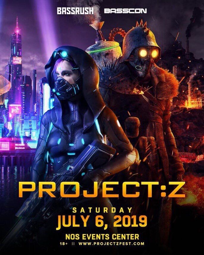 Project Z 2019 Flyer