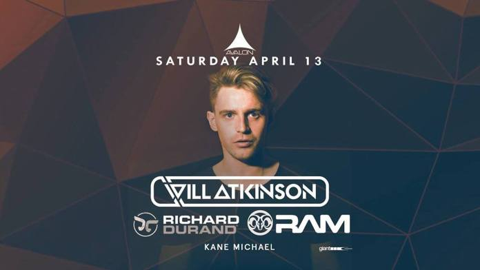 Will Atkinson at Avalon Hollywood