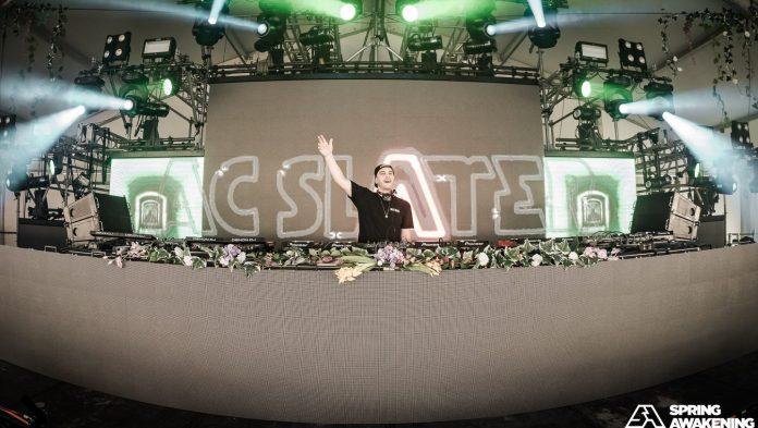 AC Slater at Spring Awakening Music Festival 2018