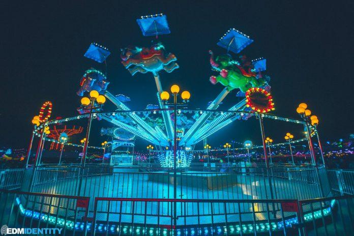 EDC Las Vegas 2019 Dumbo Ride