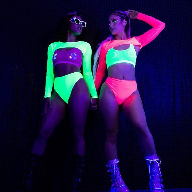 Freedom Rave Wear Neon