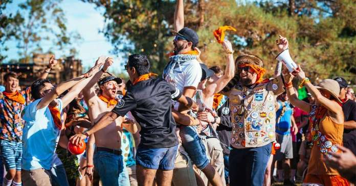 Dirtybird Campout West Games and Activities