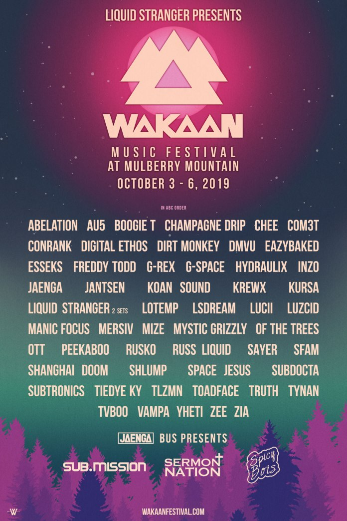 Wakaan Festival 2019 Lineup