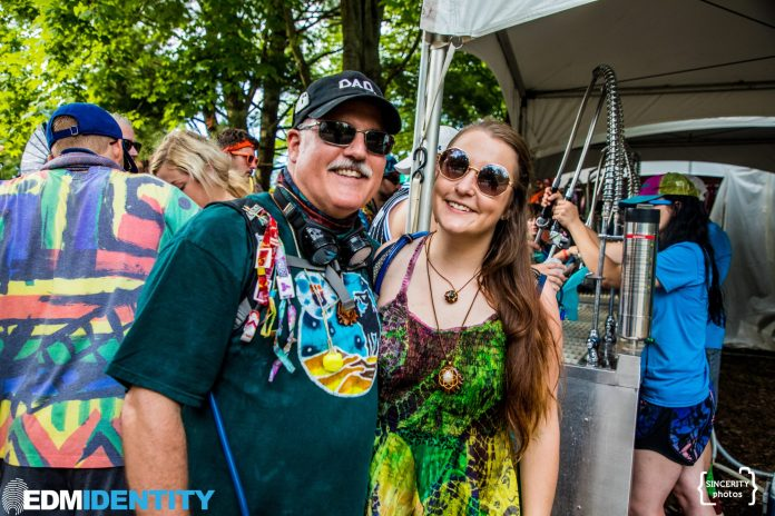 Electric Forest 2019 Dad Photo
