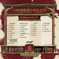 Tomorrowland 2019 Weekend 1 Live Stream Schedule Sunday