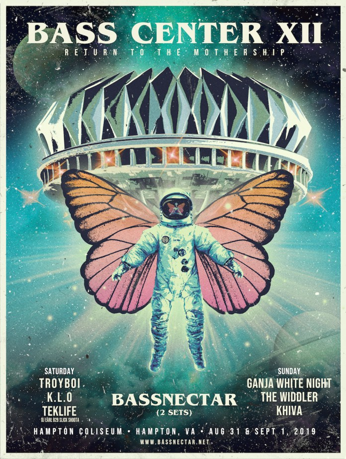 Basscenter XII Poster