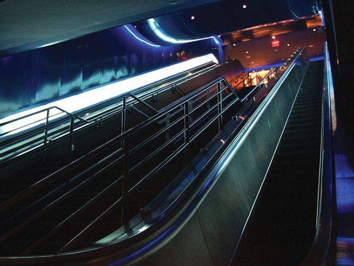 Playstation Theater Escalators