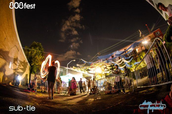 Subtle Events Warehouse/Block Party: Fire Poi