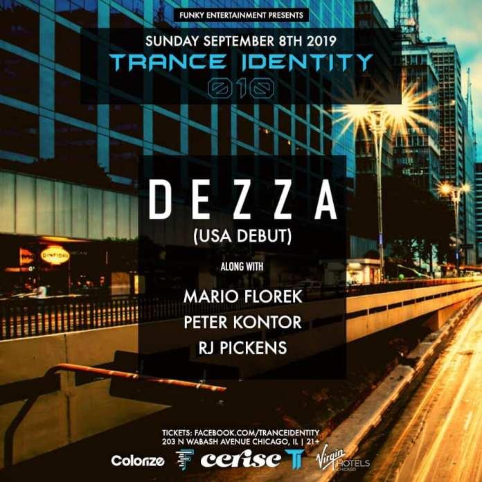 Dezza Trance Identity 010 Lineup