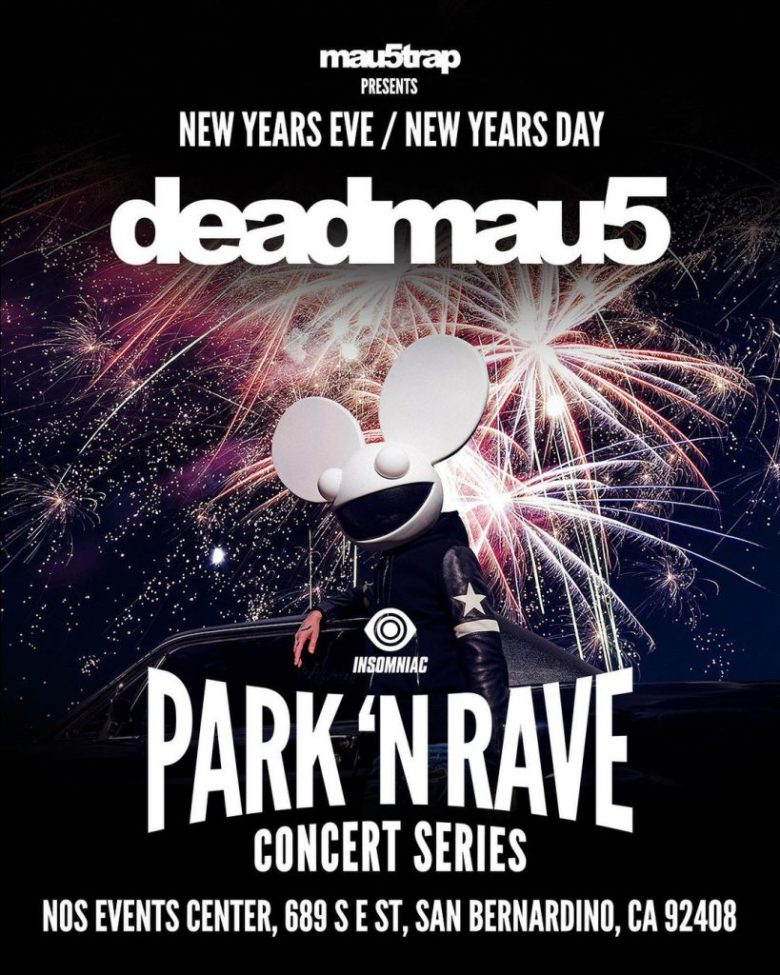 deadmau5 Heads to SoCal for NYE Park N Rave and January Drive-In | EDM  Identity