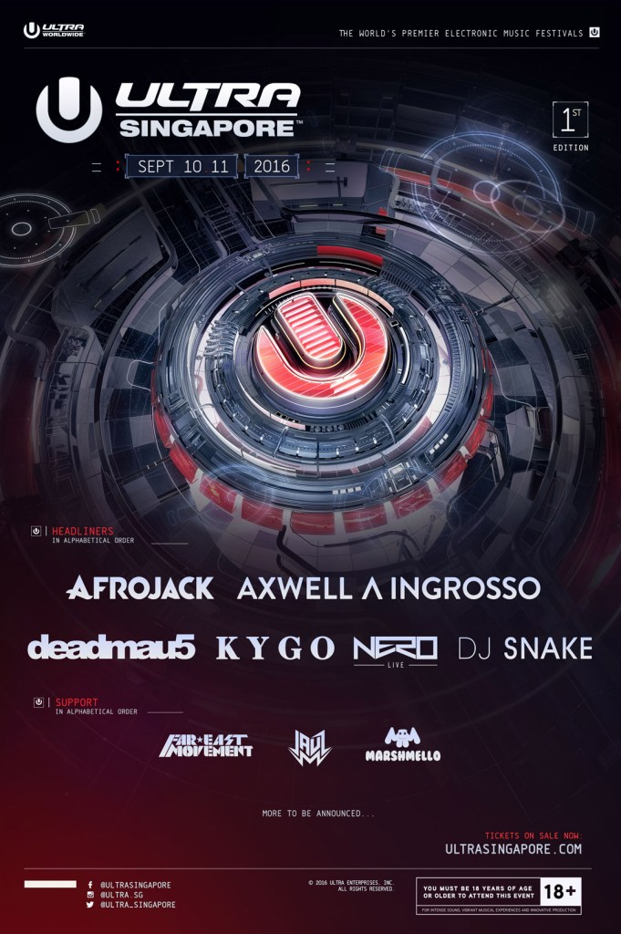 ultra worldwide singapore phase one lineup
