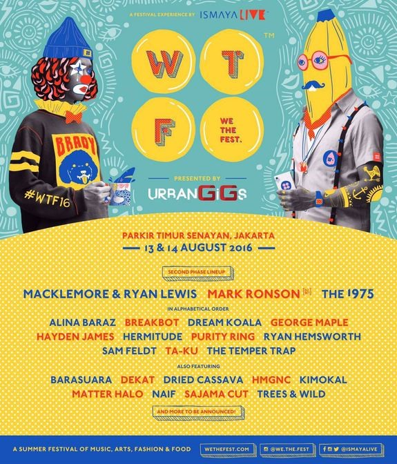 we the fest 2016 artists
