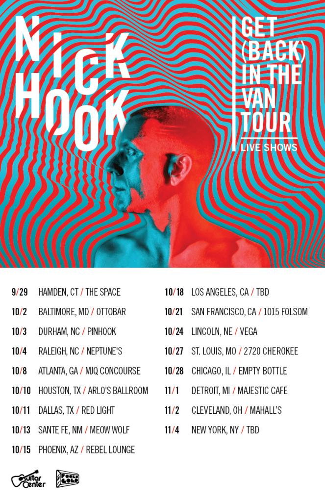 Nick Hook Tour Dates