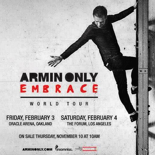 Armin Only Embrace Tour US