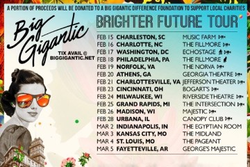 big gigantic brighter future winter tour