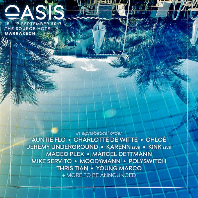 Oasis Festival Lineup
