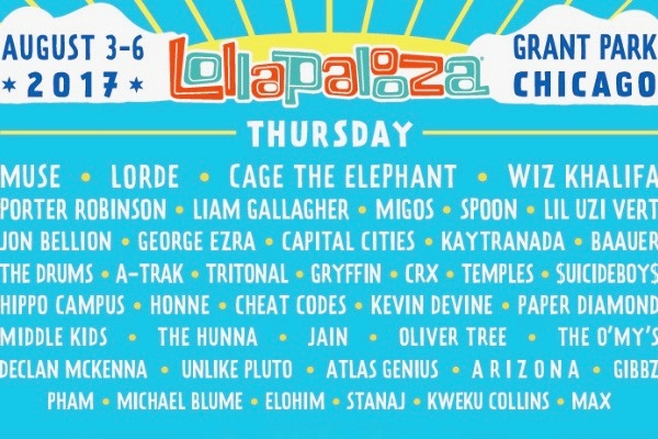 lollapalooza 25th anniversary encore
