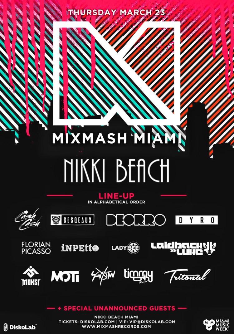 Mixmash MMW Flyer