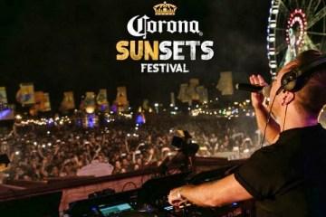corona sunsets festival tulum