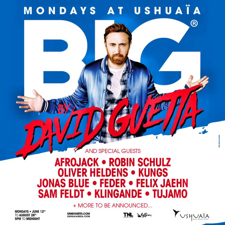 David Guetta Flier