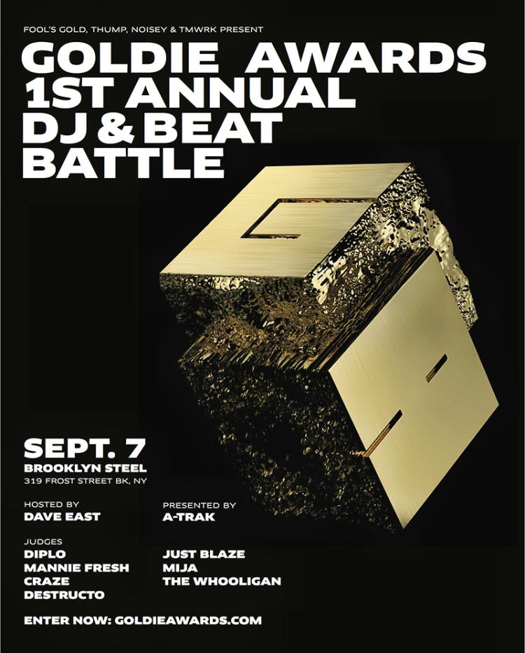 Goldie Awards Flier
