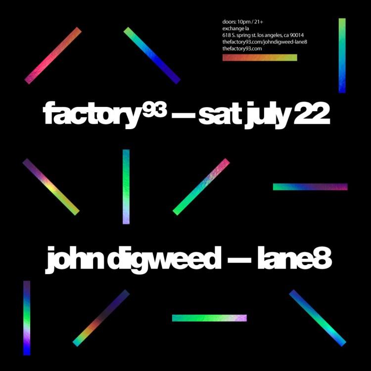John Digweed Flier