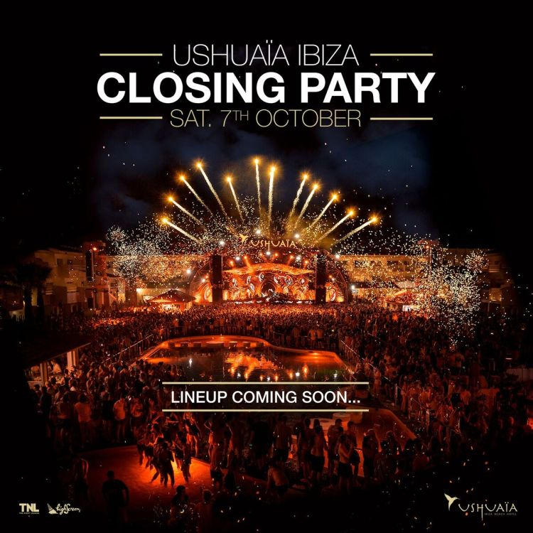 Ushuaia Ibiza Closing Party