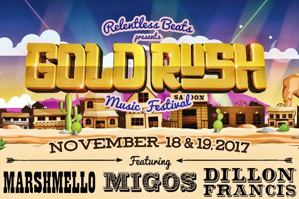 goldrush music festival 2017 full lineup