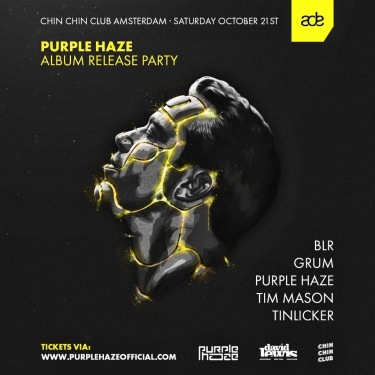 Sander van Doorn Purple Haze Album Release Party 2017 Lineup