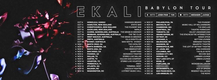 Babylon Tour 2017 Flier