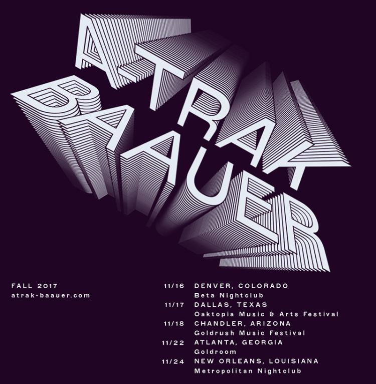 A-Trak + Baauer Fall Tour
