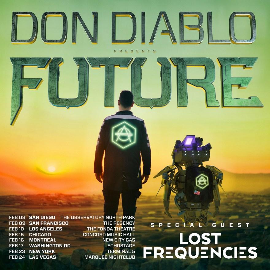 Don Diablo 2017 Tour