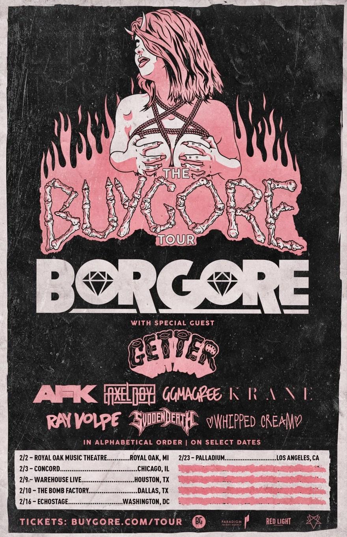 Borgore 2018 Tour