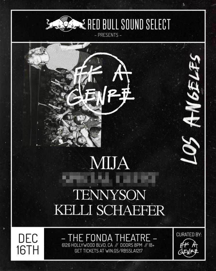 FK A Genre LA 2017 Flyer