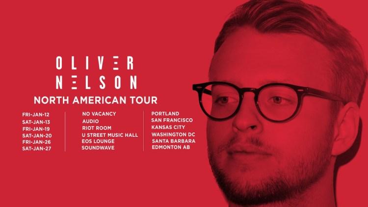 Oliver Nelson 2018 Tour Flyer