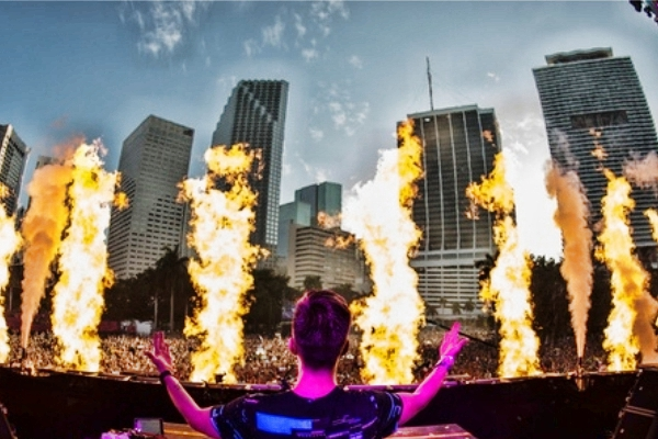 nicky romero ultra music festival 2018 competition