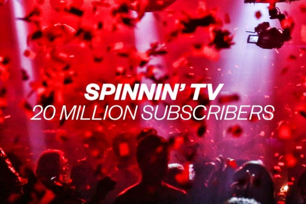 spinnin records 20 million youtube subscribers