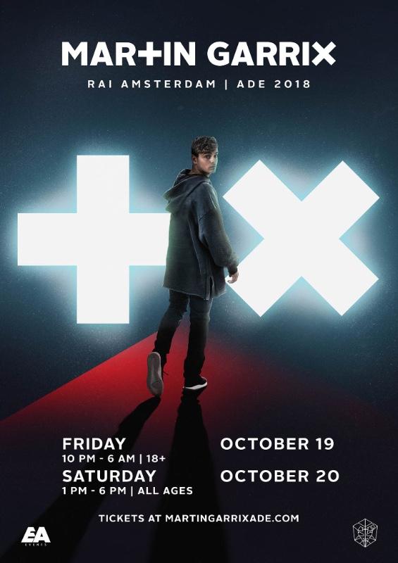 Martin Garrix RAI 2018 Flyer