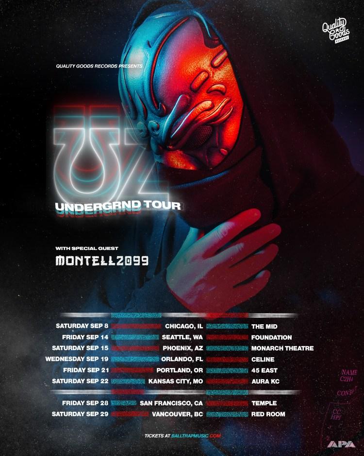 UZ - UNDRGRND TOUR