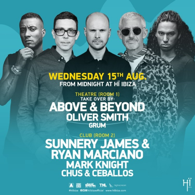 Above & Beyond Ibiza Flyer