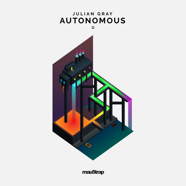 Julian Gray Autonomous EP Album Artwork