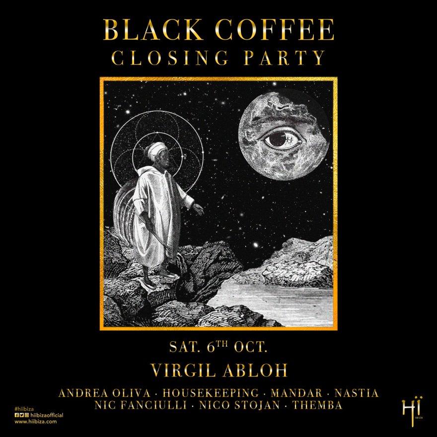 Black Coffee 2018 Flyer