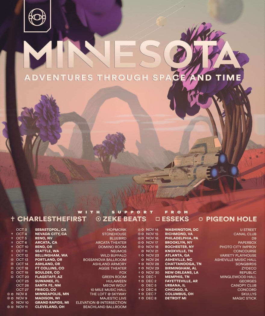 Minnesota Adventures Through Space and Time 2018 Flyer