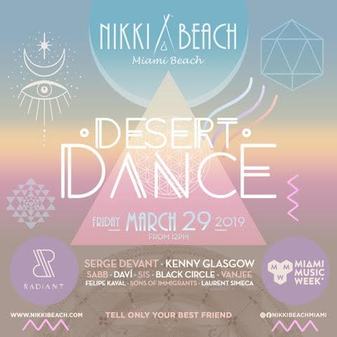 Dessert Dance Festival 2019 Flyer