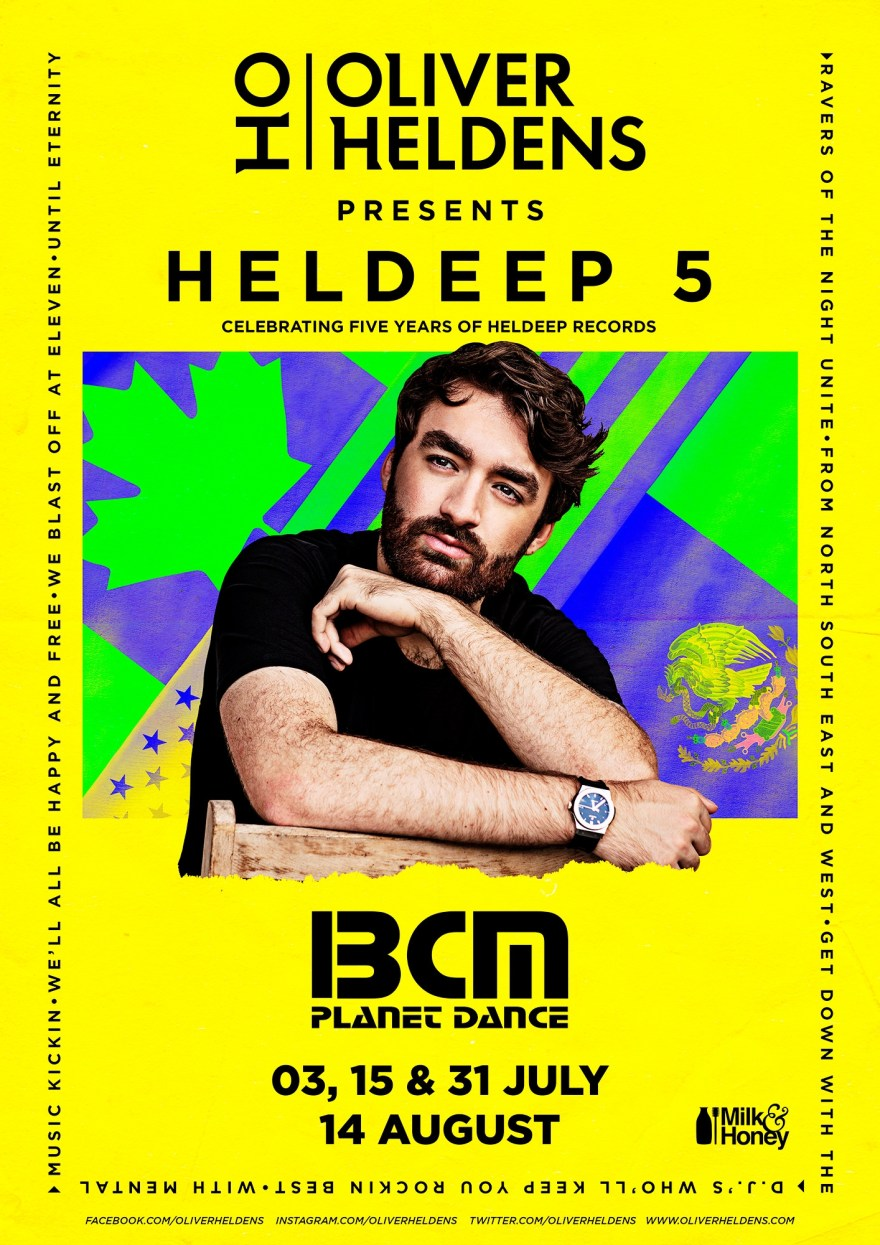 Oliver Heldens Heldeep 5 March 2019 Flyer