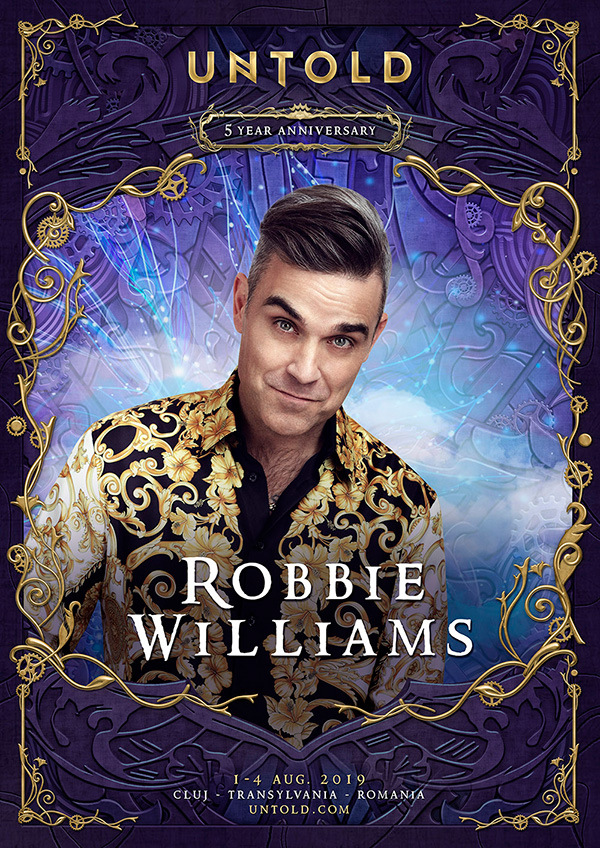 Robbie Williams Untold 2019 Flyer