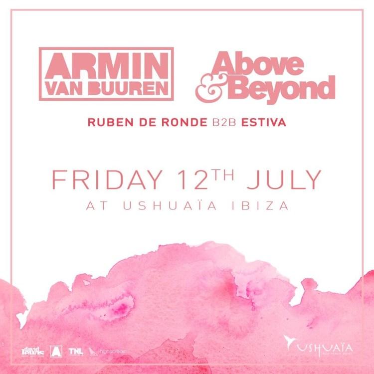 Ushuaia Ibiza July 2019 Flyer