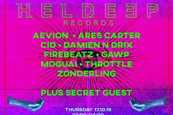 Heldeep Records Amsterdam Dance Event