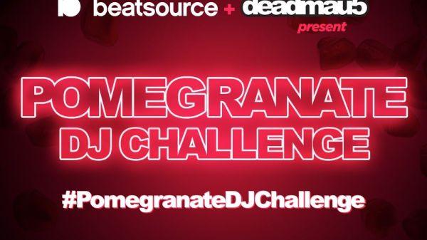 deadmau5 Beatsource PomegranateDJChallenge